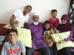 Hakim now with his five kids