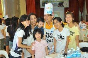 Simon Lim and his family