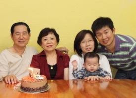 Kelvin Ang and Family.
