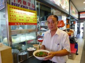 Mr Chua at his Hougang stall