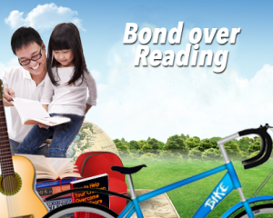 Bond over reading
