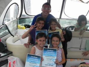 Attend a basic fishing course with your children. Photo source: www.fishingaffairs.com